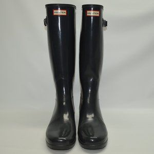 Hunter Original Refined Gloss Tall Rubber Rain